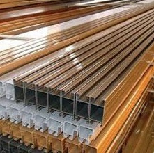 wood finish aluminium material